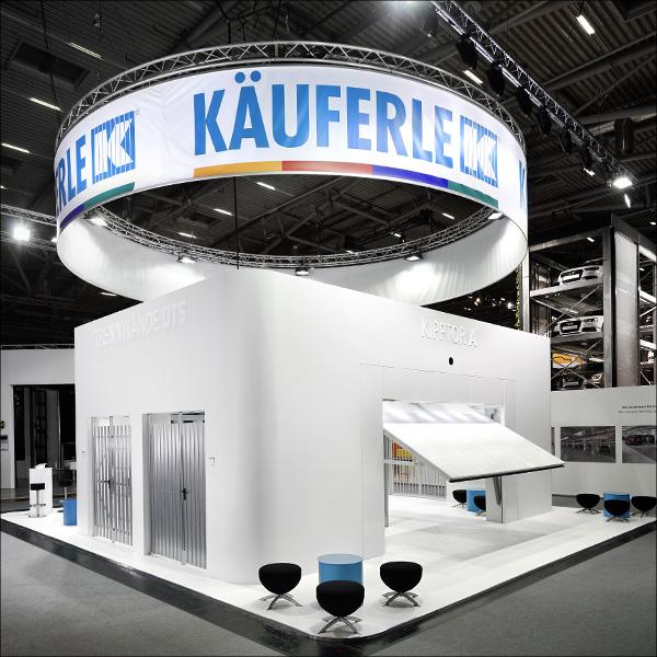 F2 Design, Kaeuferle-Messestand